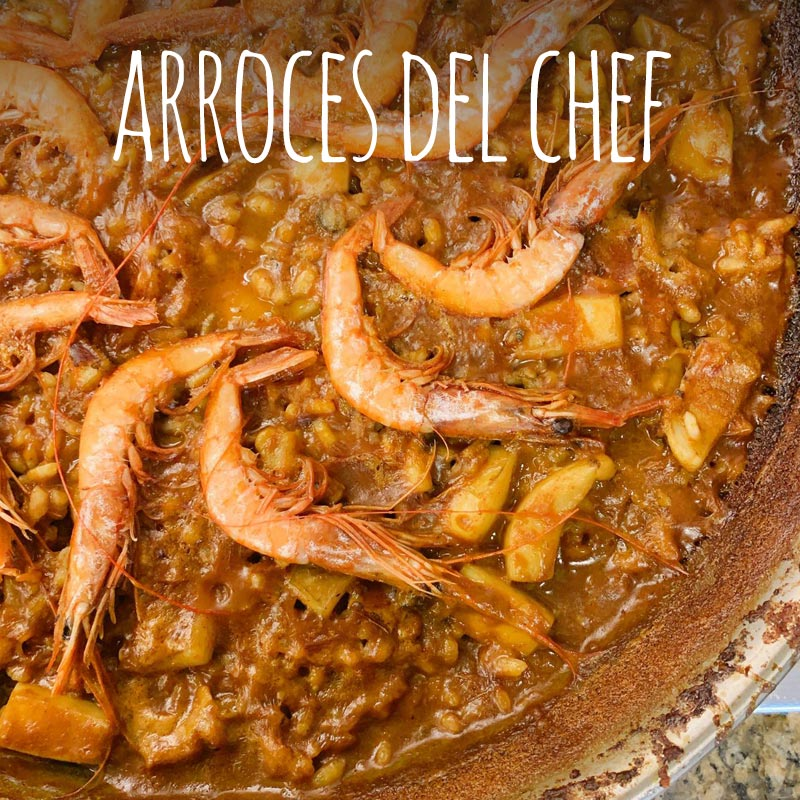 Arroces de autor o del chef