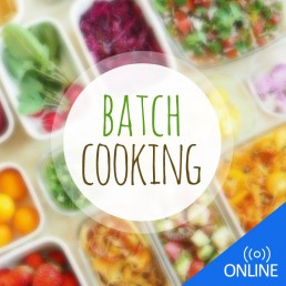 Batch cooking online