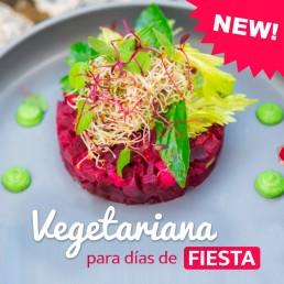 Cocina Vegetariana para días de fiesta